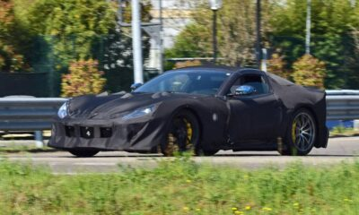 ferrari-812-gto-spy-photos-front-three-quarters