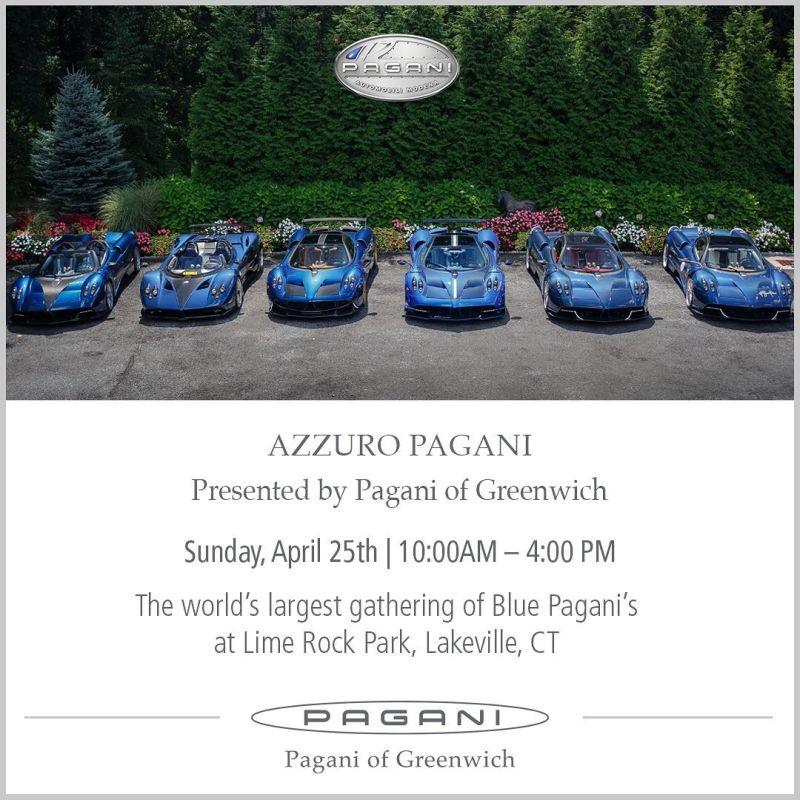 Azzuro Pagani-Greenwich