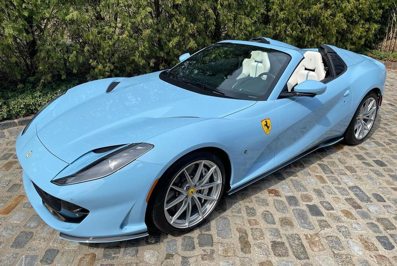 Baby Blue Ferrari 812 GTS-Tailormade-US-1