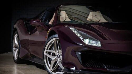 Ferrari 488 Pista Spider-Purple-Tailormade-5