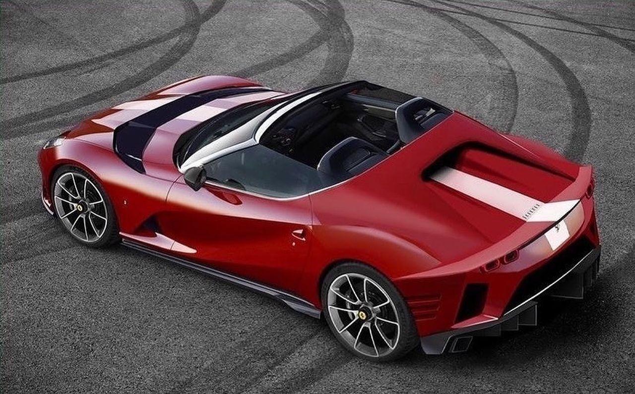Ferrari 812 GTO-VS-Aperta-rendering