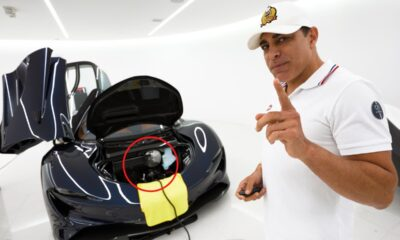 Manny Khoshbin-McLaren Speedtail battery trickle charger