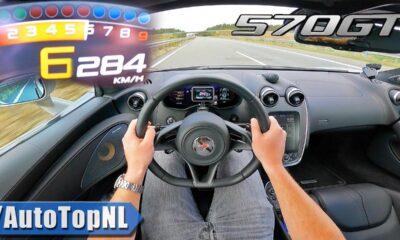 McLaren 570GT Top Speed Autobahn