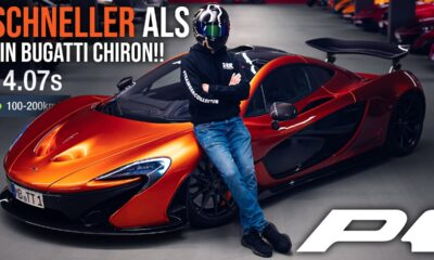 McLaren P1 top-speed acceleration-autobahn