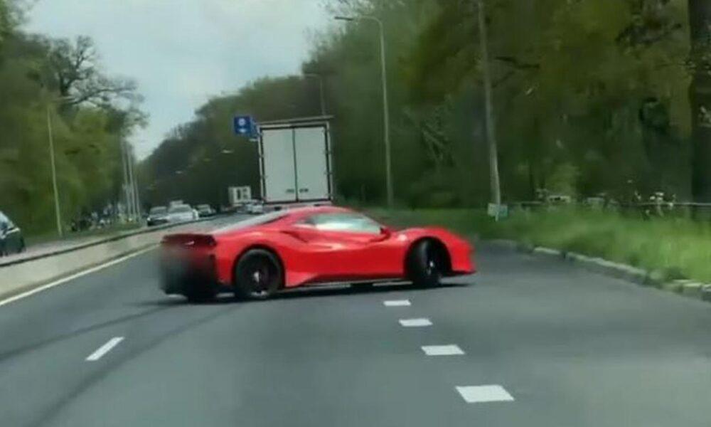 Ferrari 488 Pista-Crash-Netherlands-1