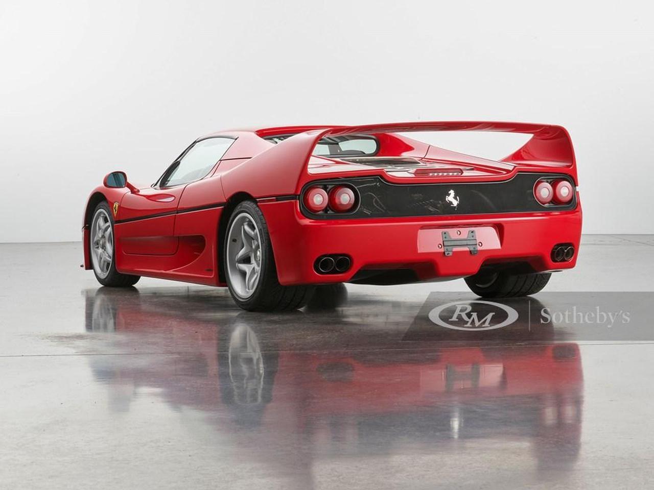 Ferrari F50-RM-Sothebys-2021-auction-2