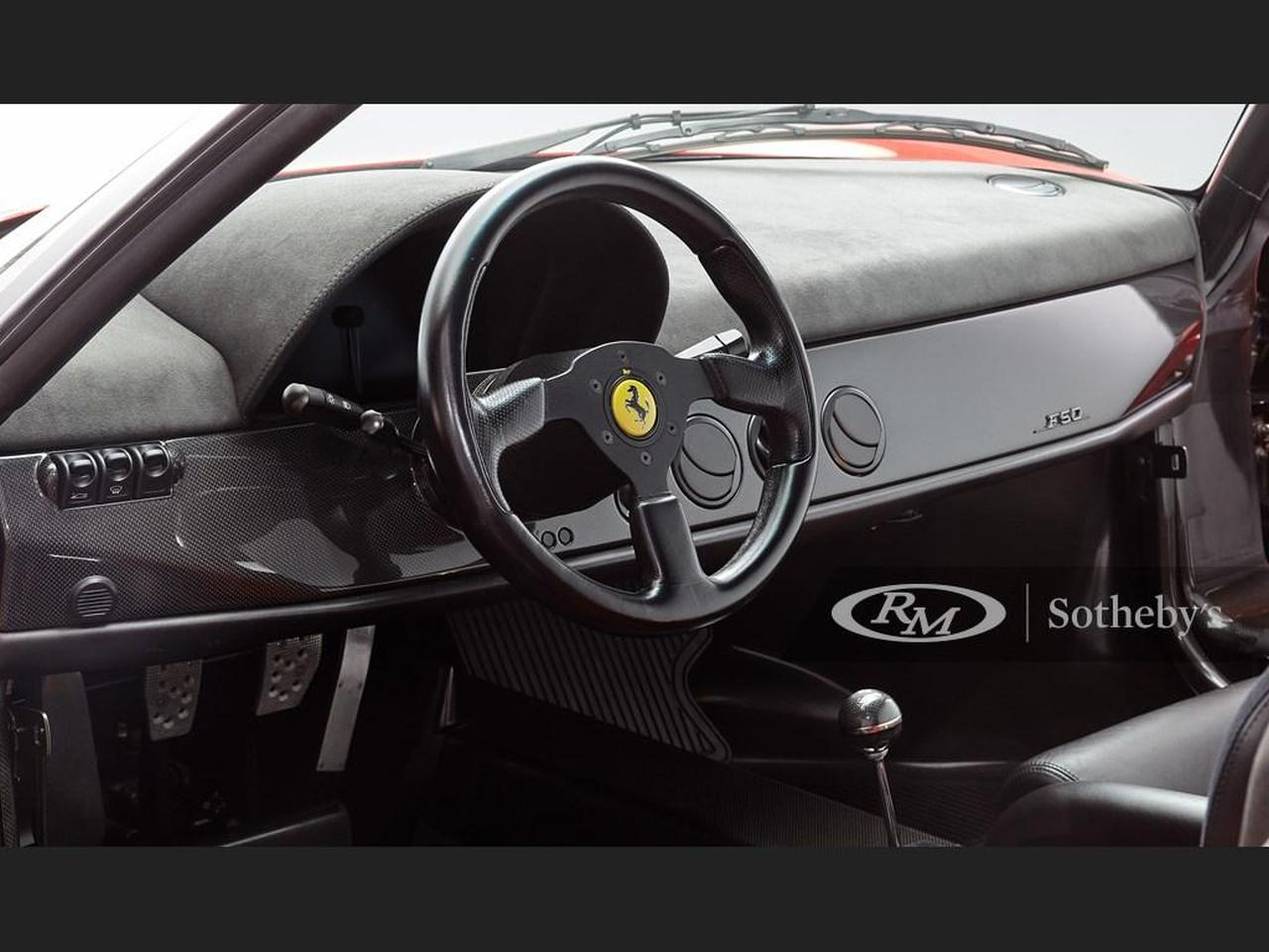 Ferrari F50-RM-Sothebys-2021-auction-3