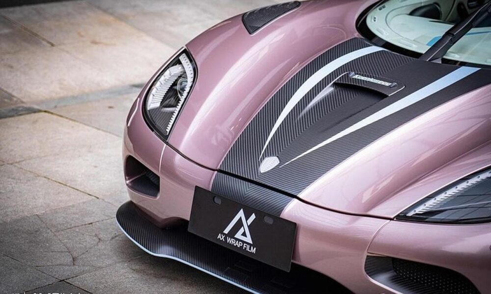 Pink Koenigsegg Agera R-China-5