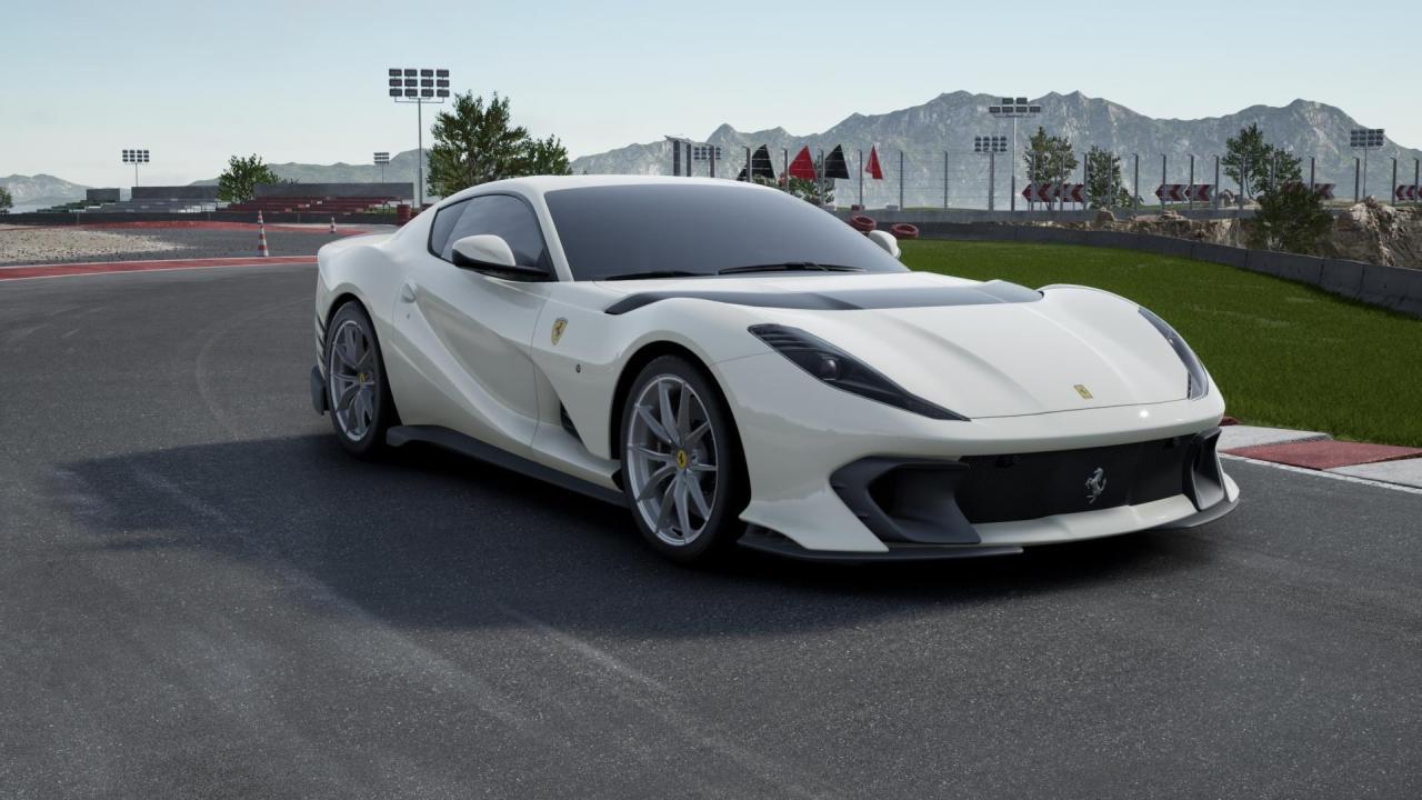 Poverty Spec Ferrari 812 Competizione-1