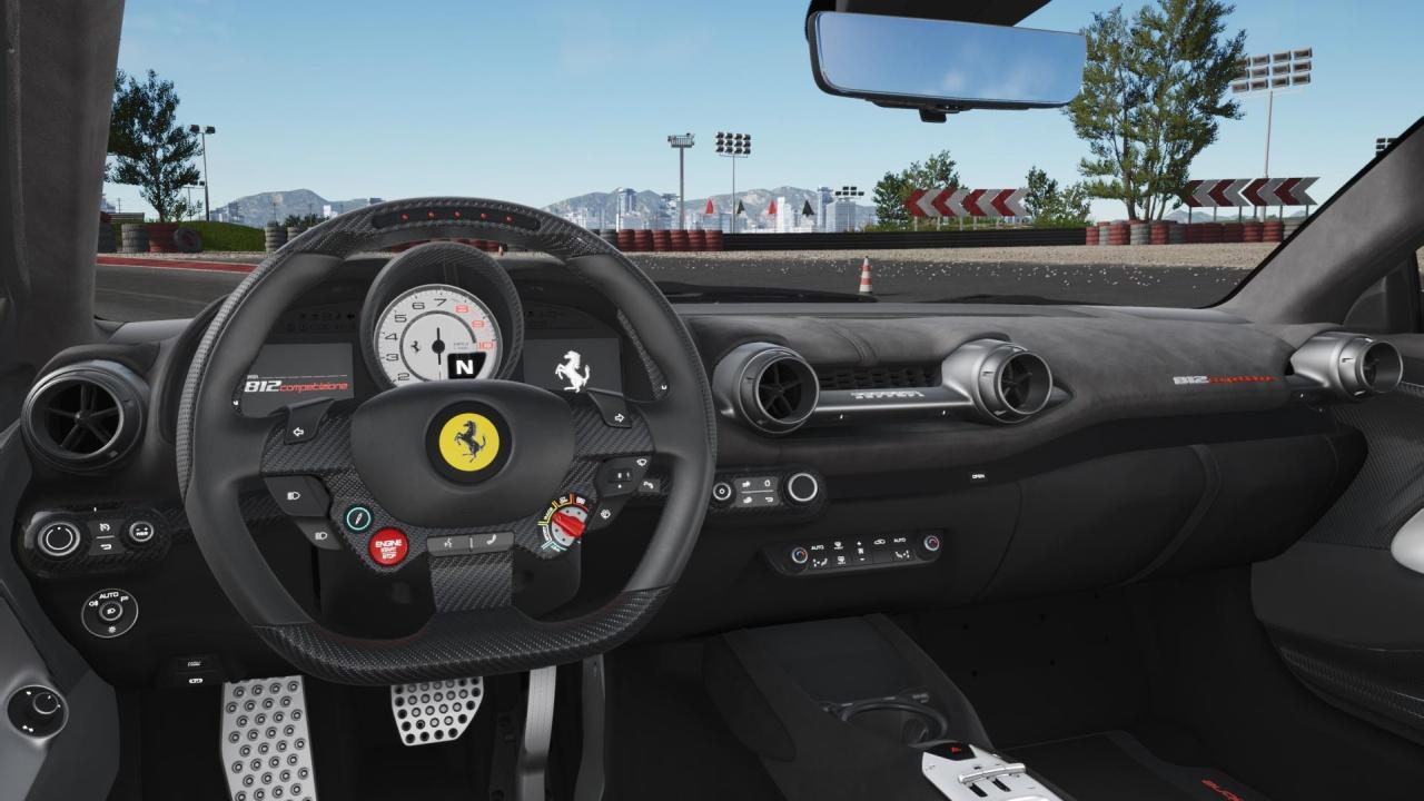 Poverty Spec Ferrari 812 Competizione-2
