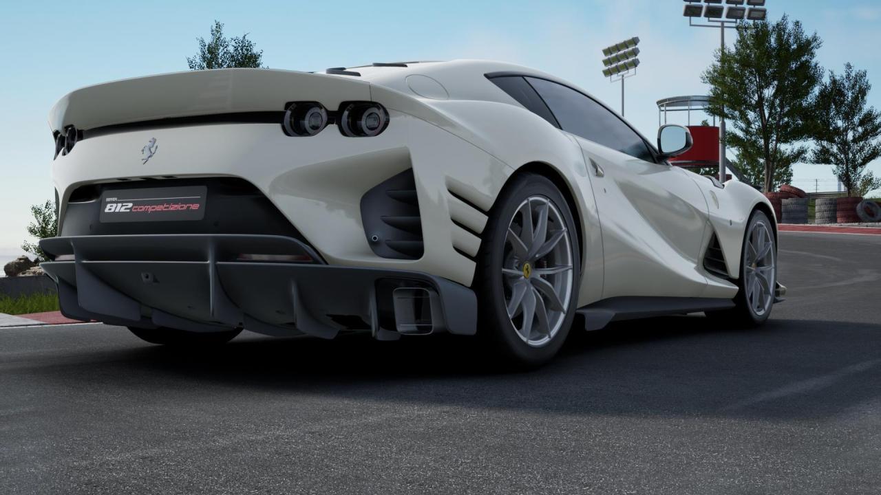 Poverty Spec Ferrari 812 Competizione-3