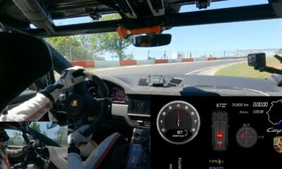 2022 Porsche Cayenne-Nurburgring lap record