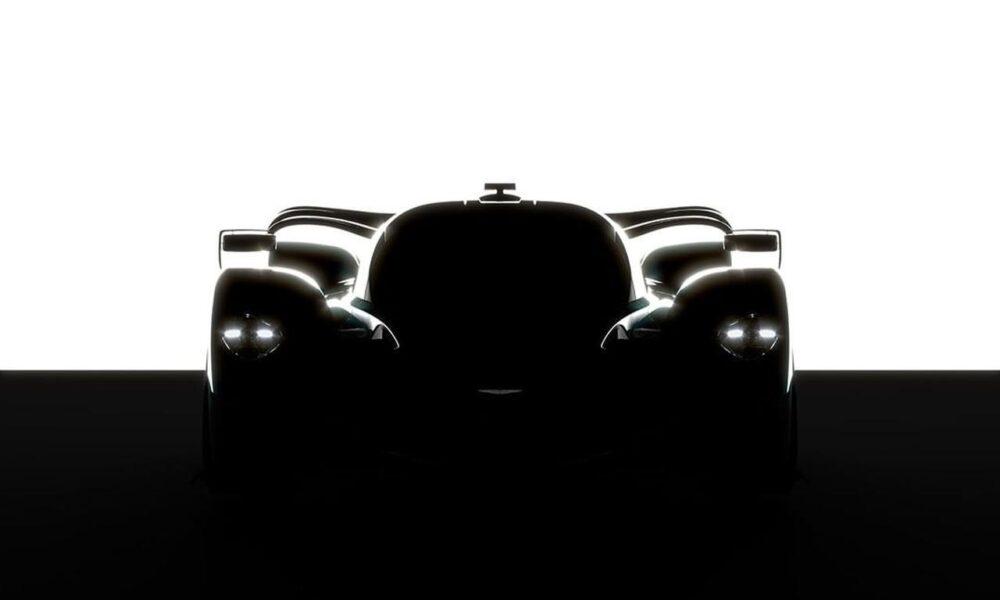 Aston Martin Valkyrie LM-track-car teaser