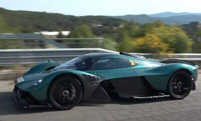 Aston Martin Valkyrie-spotted in Spain