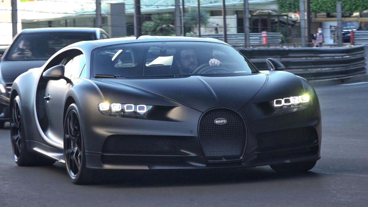 Bugatti Chiron Sport Edition Noire Sportive-Monaco