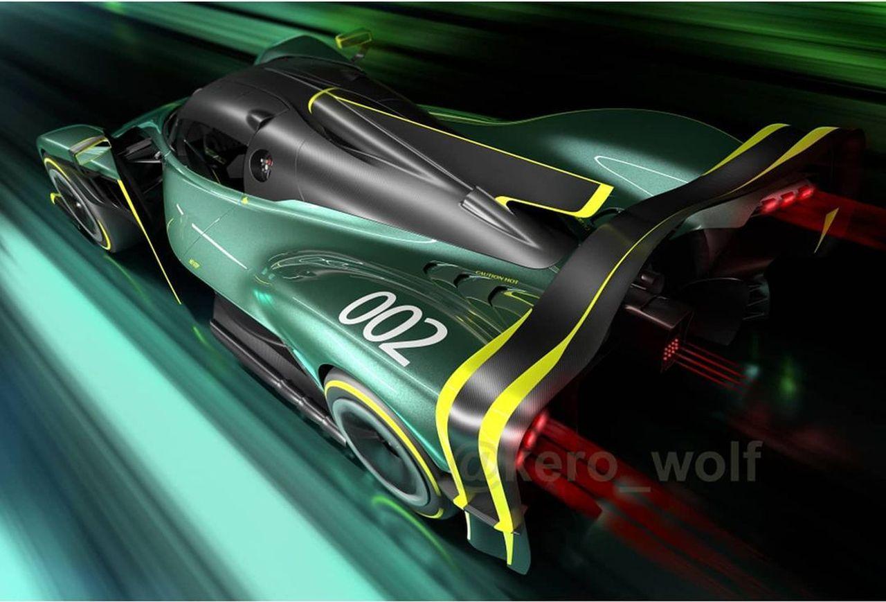 Extreme Aston Martin Valkyrie Track Car-1