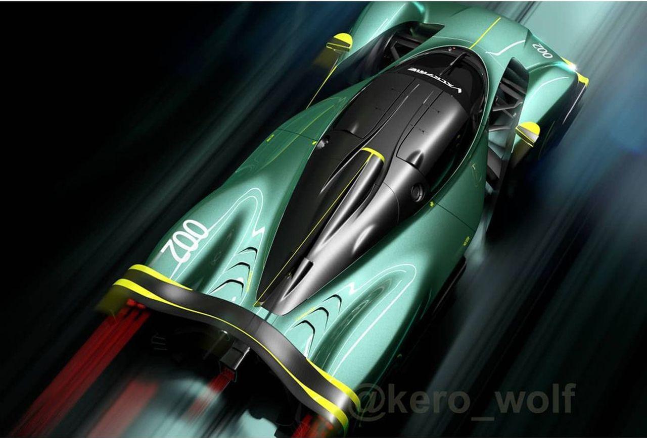 Extreme Aston Martin Valkyrie Track Car-2