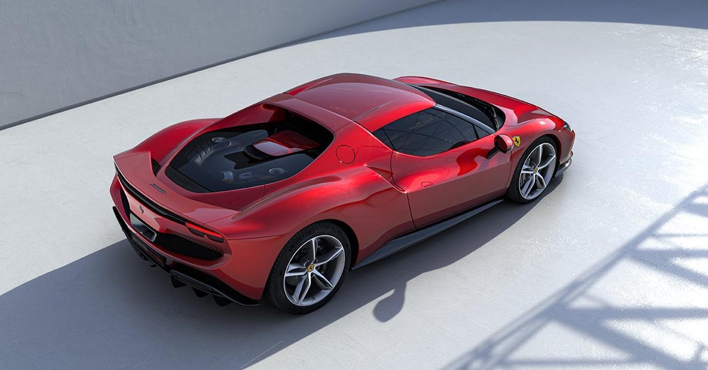 Ferrari 296 GTB-V6 Hybrid-Supercar-3