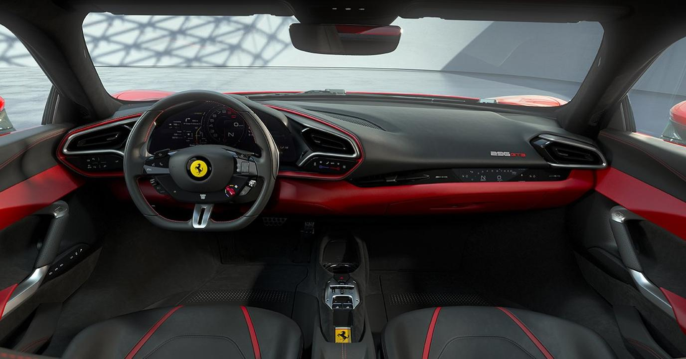 Ferrari 296 GTB-V6 Hybrid-Supercar-4