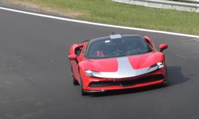 Ferrari SF90 Stradale-Nurburgring