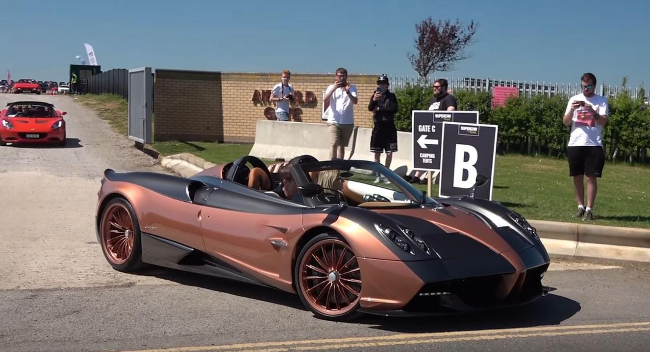 Kurota Copper Pagani Huayra Roadster-Supercar Fest 2021