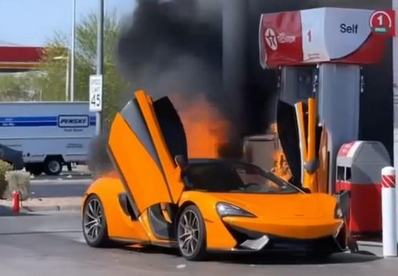McLaren 570S-Fire-Las Vegas