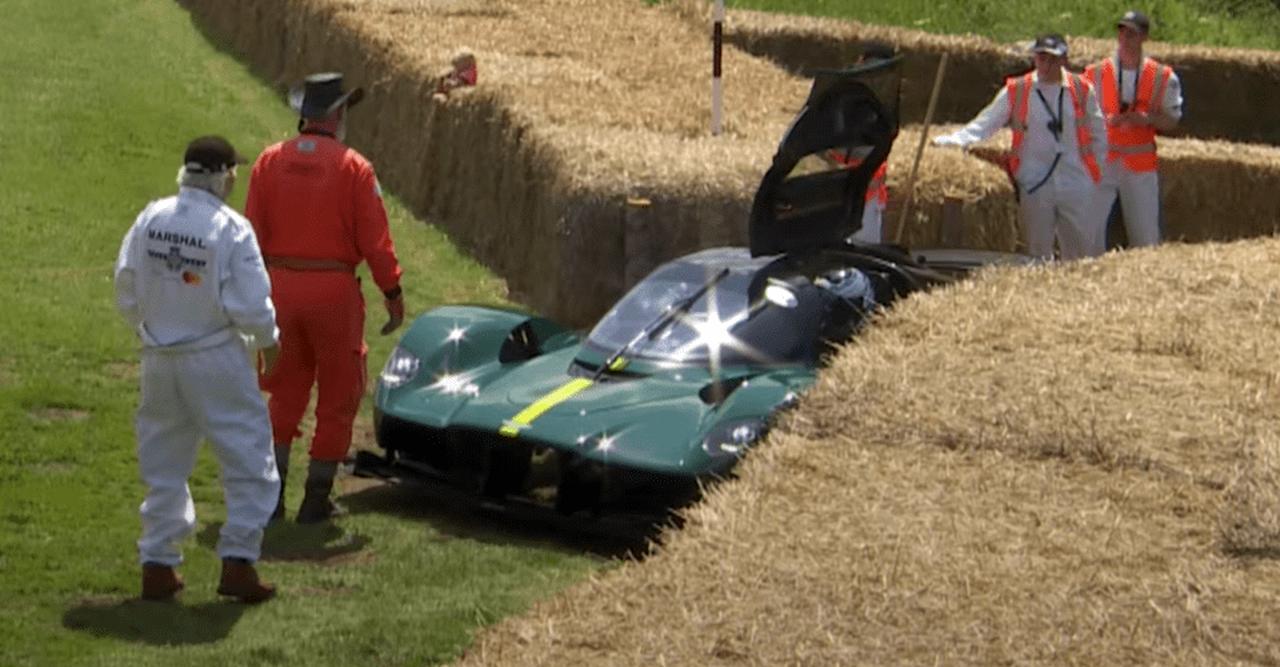 Aston Martin Valkyrie-breakdown-Goodwood