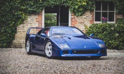 Ferrari F40 Blue-Auction-1