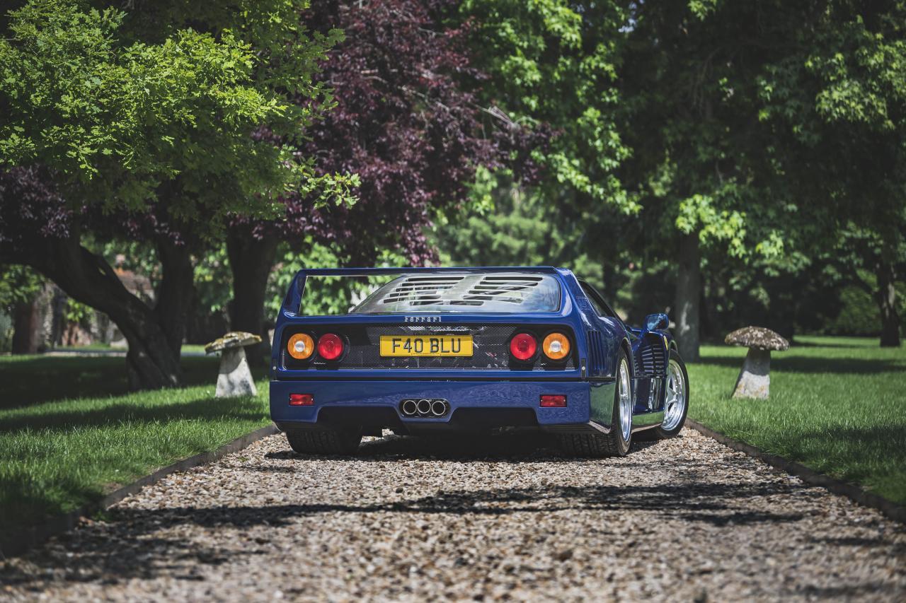 Ferrari F40 Blue-Auction-2