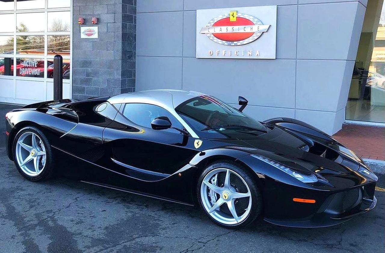 Ferrari LaFerrari-Black-Silver-Dual-tone-rare-1
