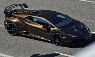 Lamborghini Huracan STO-Metallic Brown-1