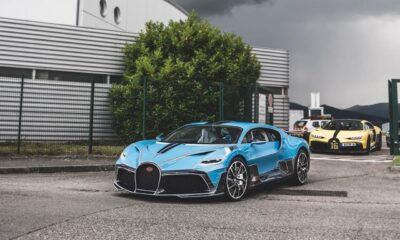 Matte Blue Bugatti Divo-last-car-built