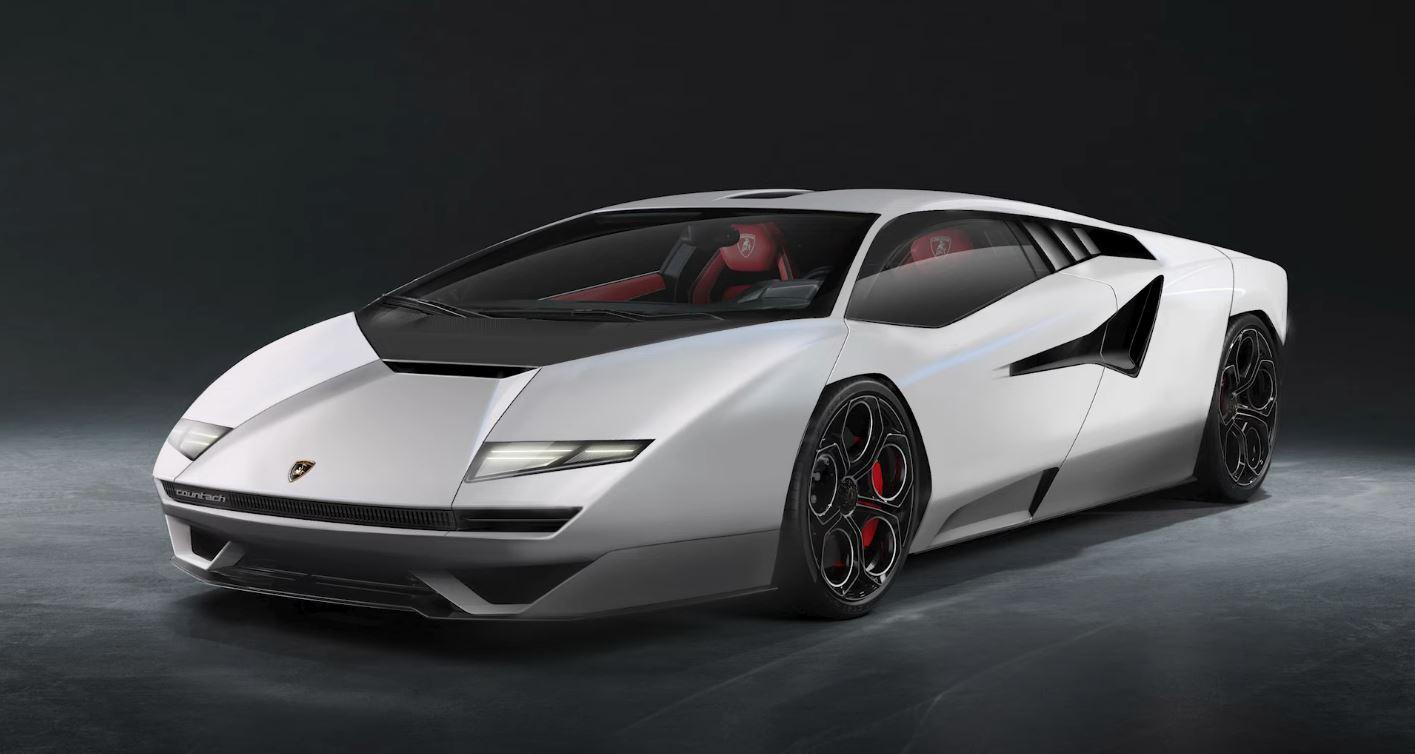 2021 Lamborghini Countach redesigned