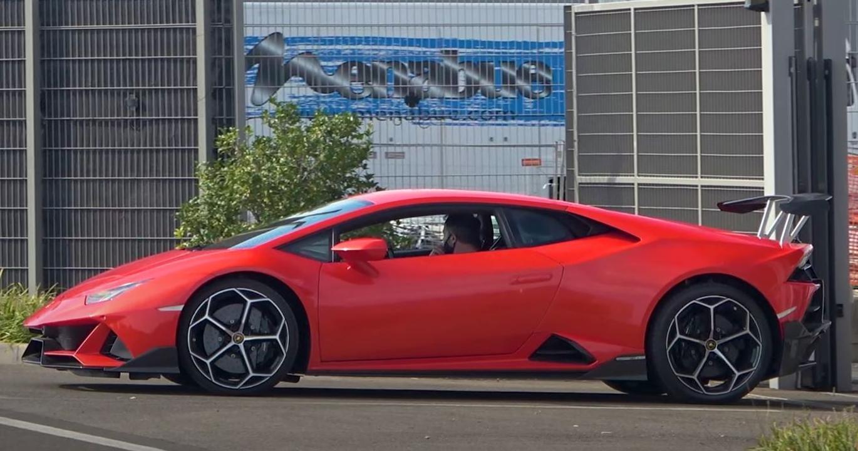 Lamborghini Huracan Superleggera-STO-test mule