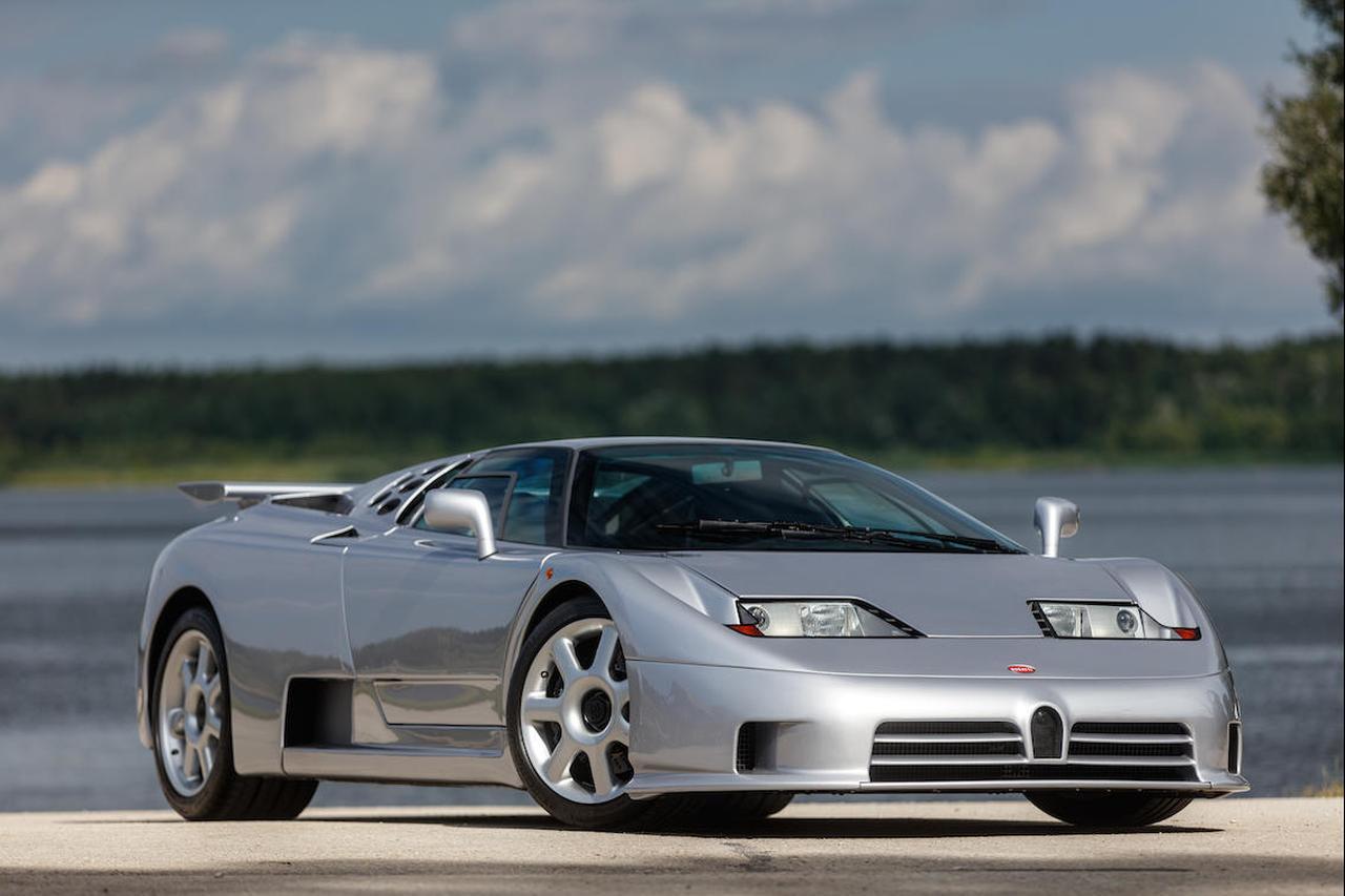 Bugatti EB110 SS Bonhams Auction 2021-1