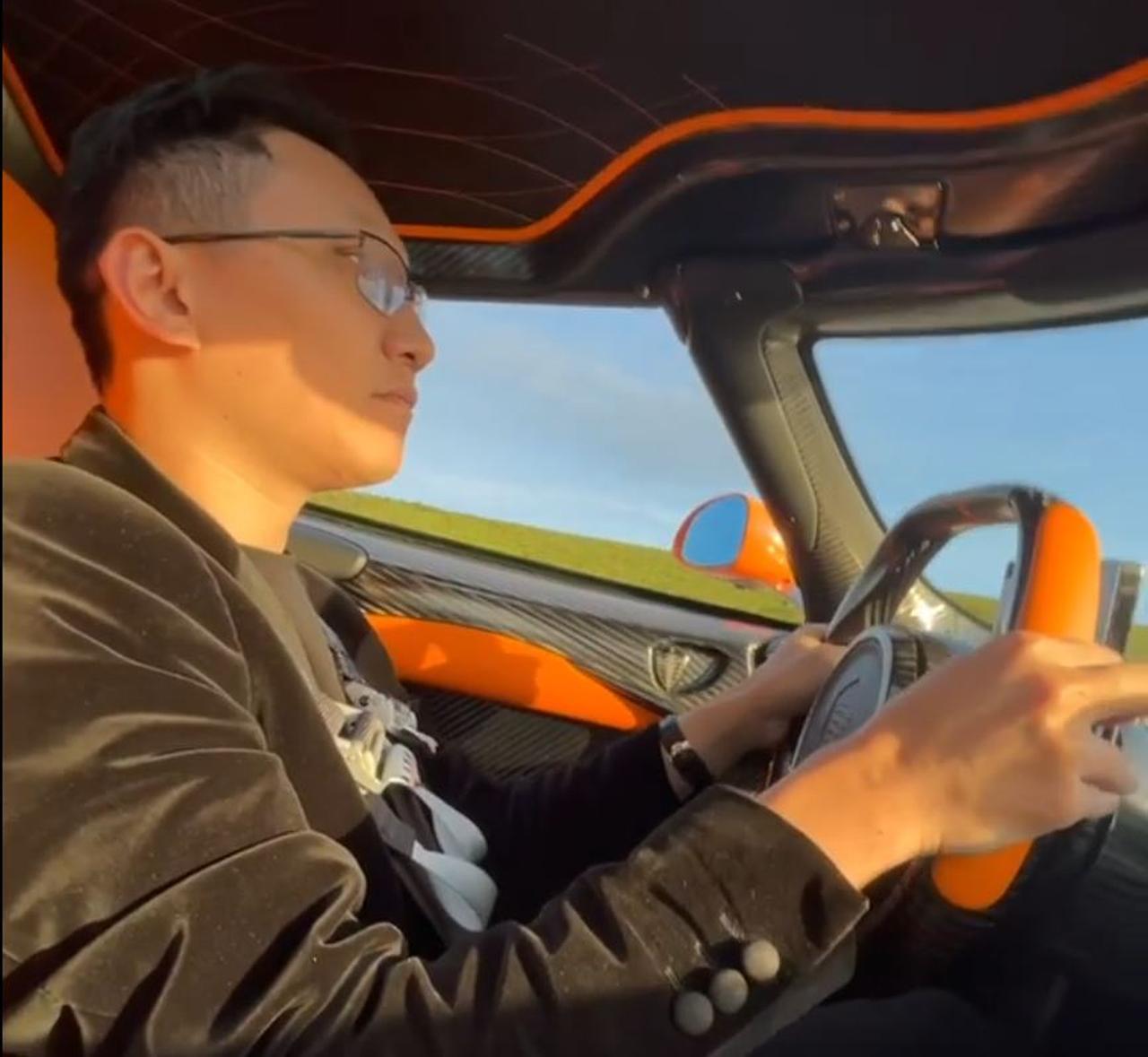 Mike Yin-Koenigsegg Jesko